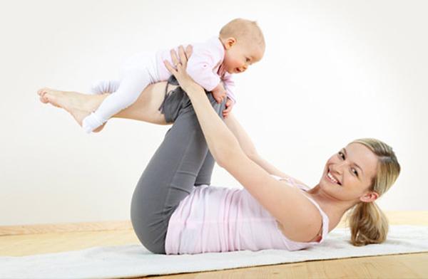 Bí quyết giảm cân sau khi sinh của vợ tôi