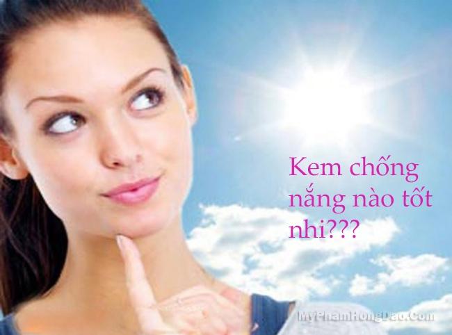 Kem chống nắng che khuyết điểm loại nào tốt?