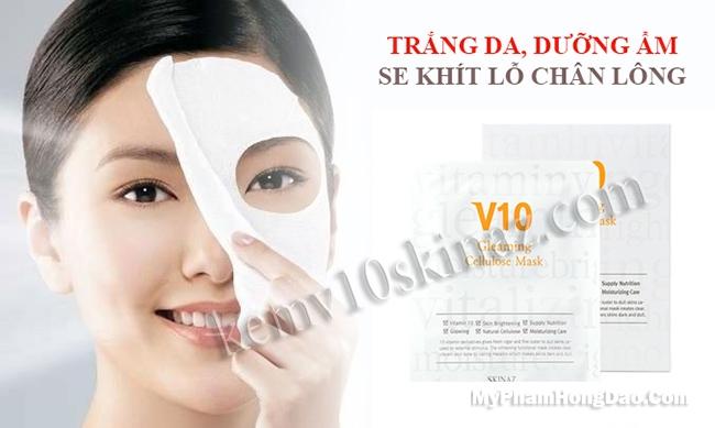 Mặt Nạ V10 Skinaz Hàn Quốc Giá Bao nhiêu?
