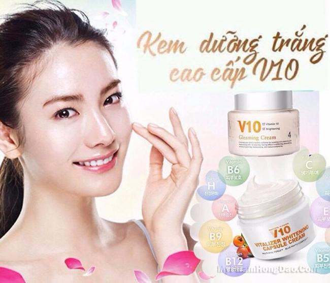 Review Kem V10 Skinaz Hàn Quốc