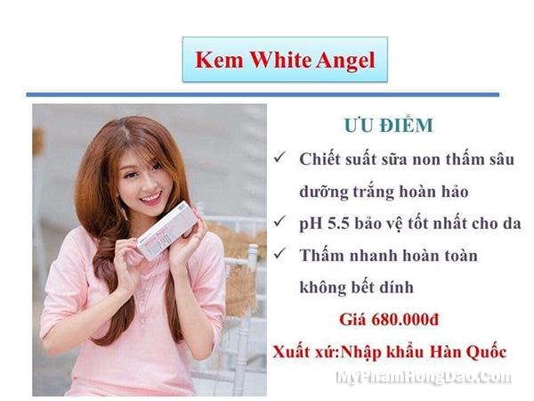 Xin Chia Sẽ Review Kem White Angel Skinaz