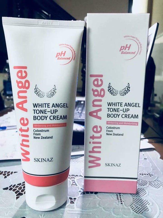KEM DƯỠNG DA BODY SKINAZ WHITE ANGEL TONE UP